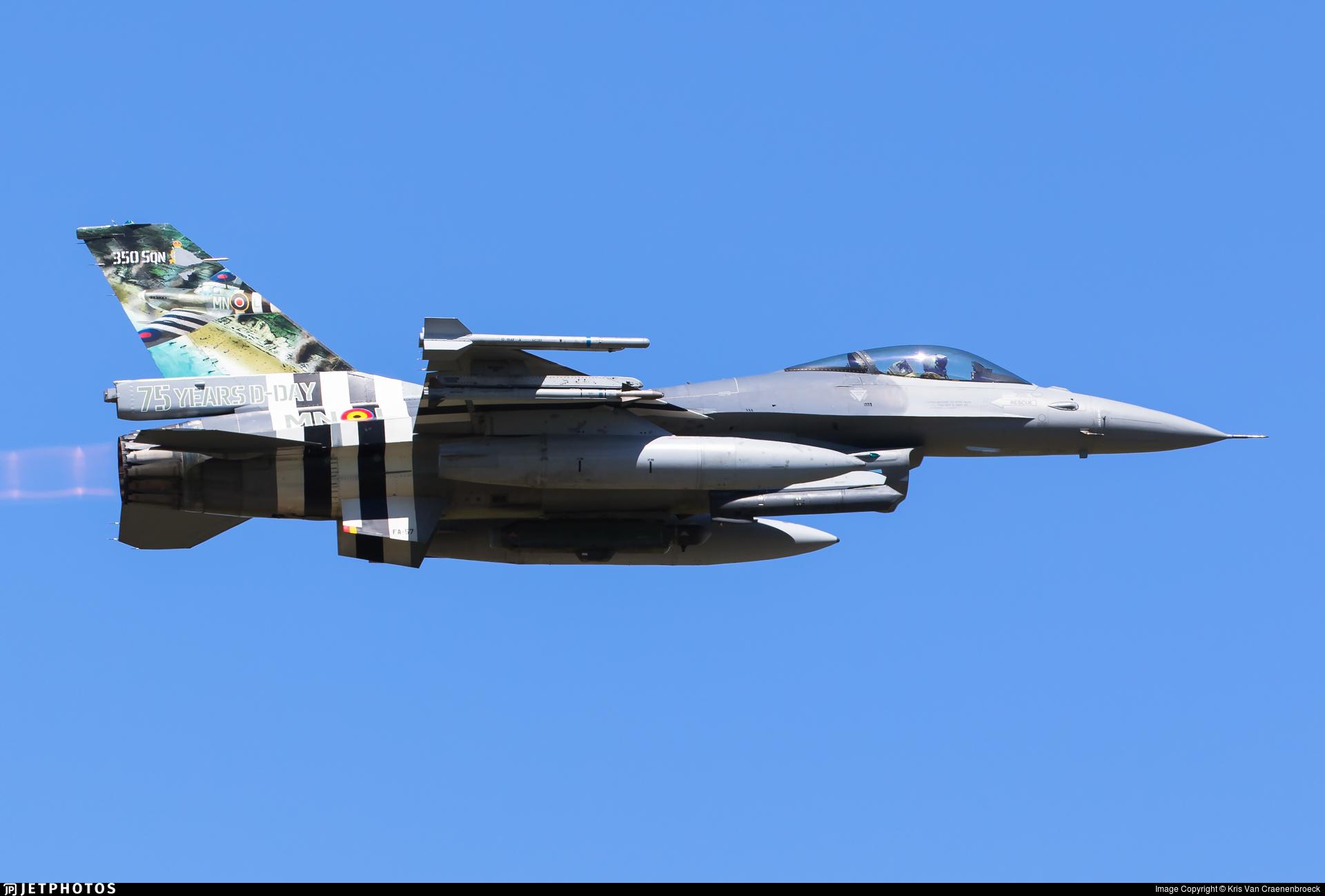 FA-57 - General Dynamics F-16AM Fighting Falcon - Belgium - Air Force