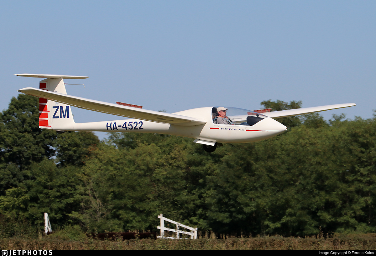 HA-4522 - Grob Astir CS77 - Private