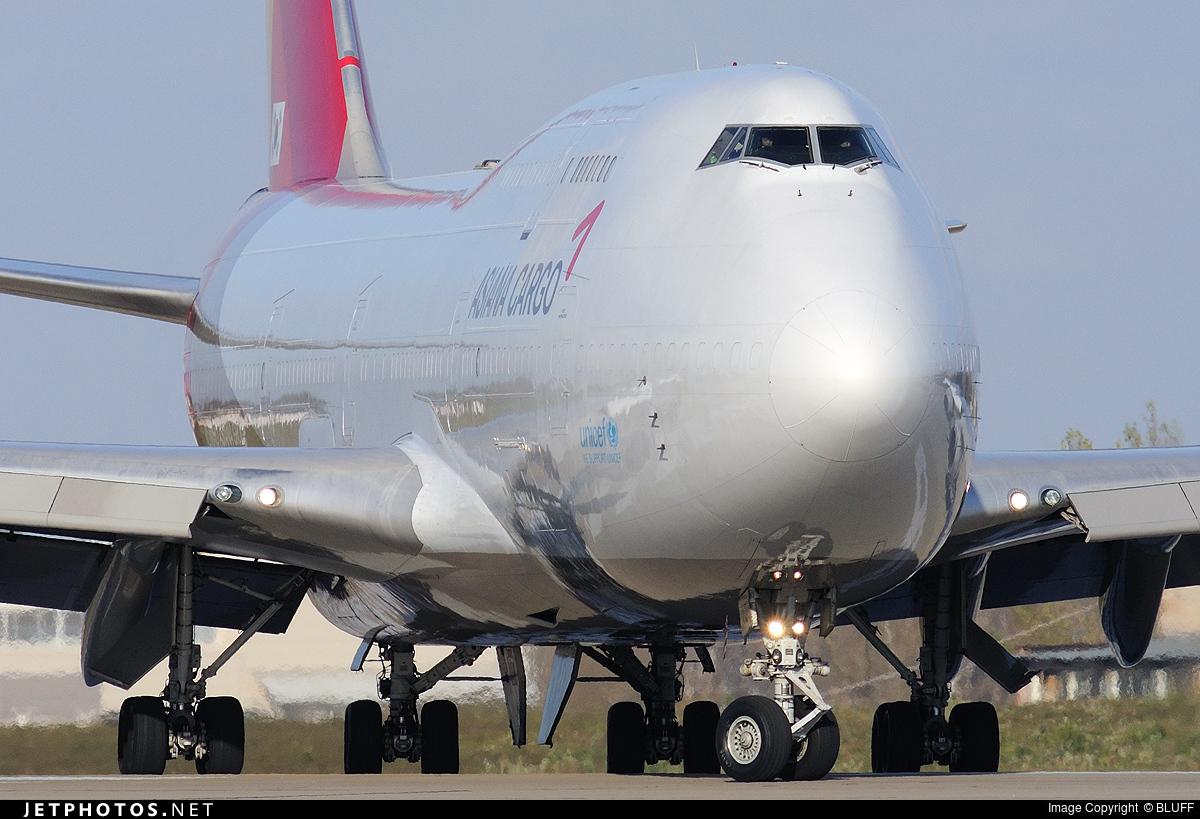 HL7413 | Boeing 747-48E(BDSF) | Asiana Cargo | BLUFF ...