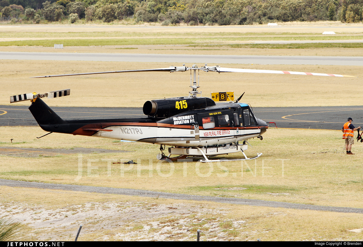 N217PJ - Bell 214B-1 - McDermott Aviation