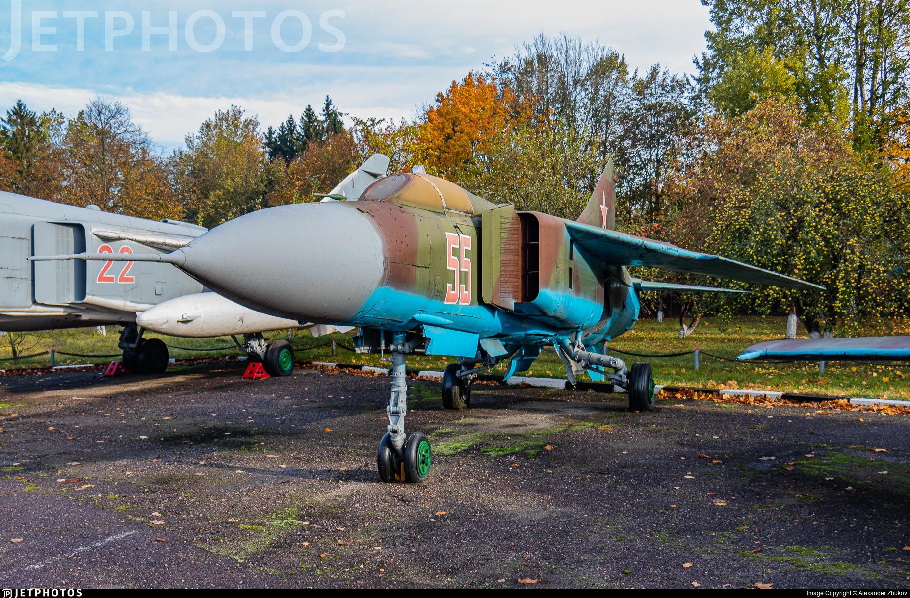 55 - Mikoyan-Gurevich MiG-23ML Flogger G - Soviet Union - Air Force