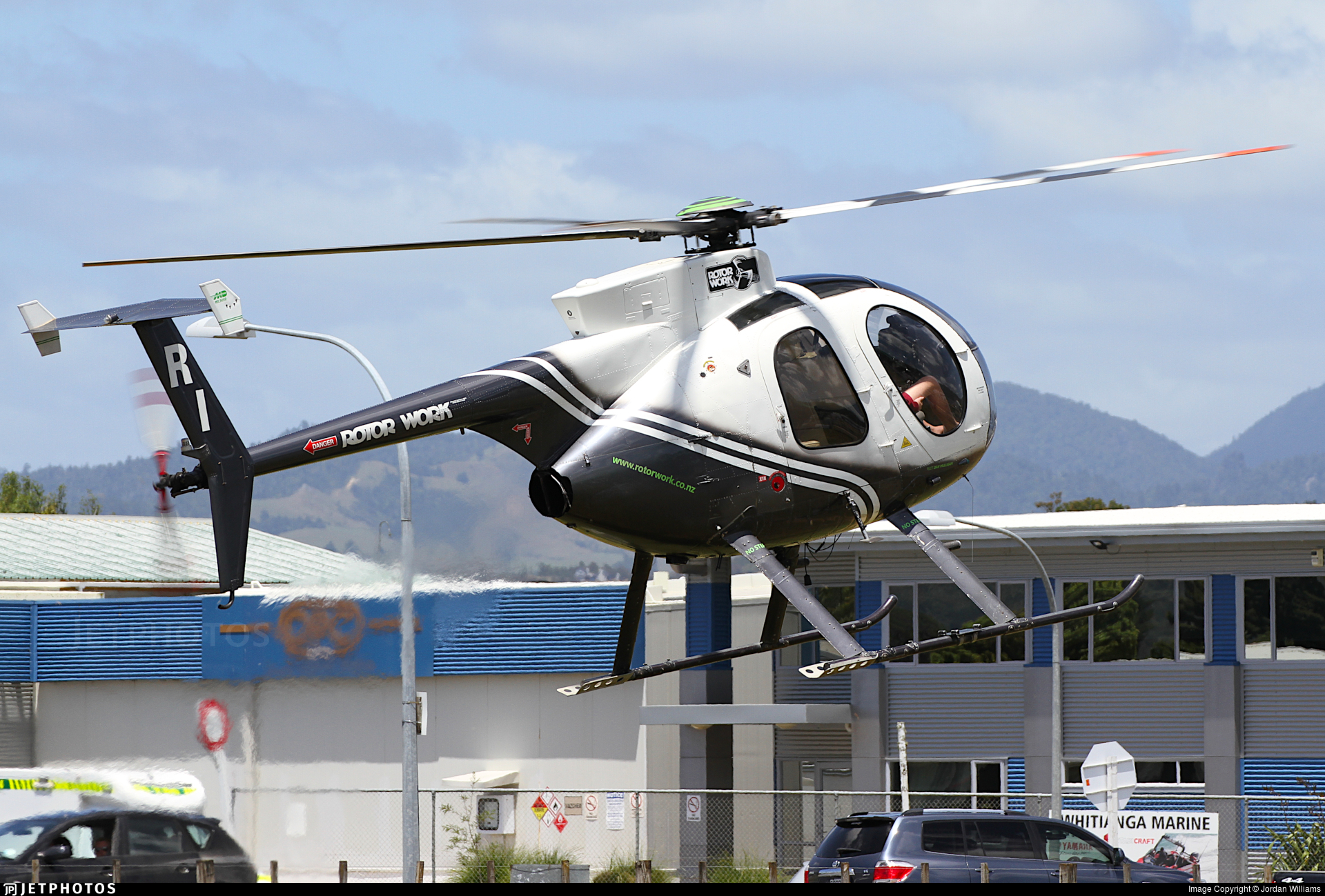 ZK-HRI - Hughes 369D - RotorWork