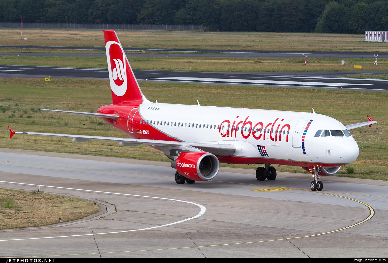 D-ABZK - Airbus A320-216 - Air Berlin