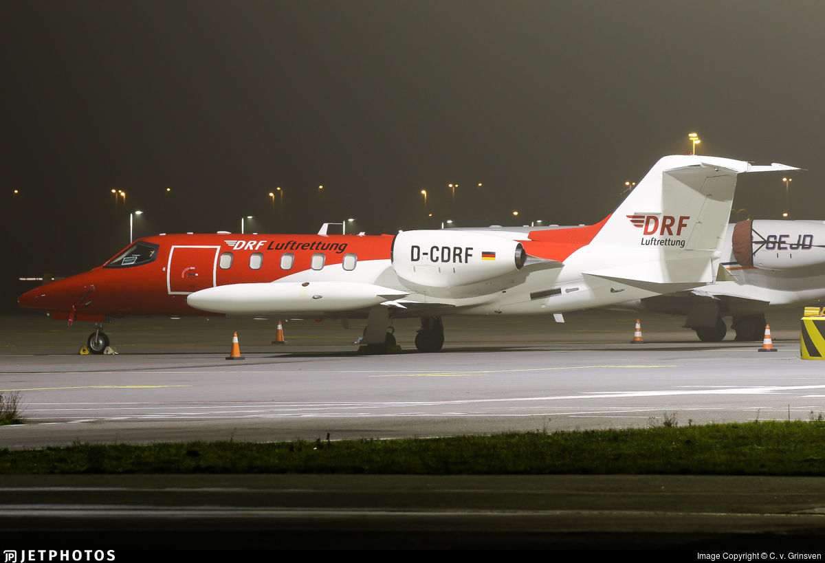 D-CDRF - Bombardier Learjet 35A - DRF Luftrettung