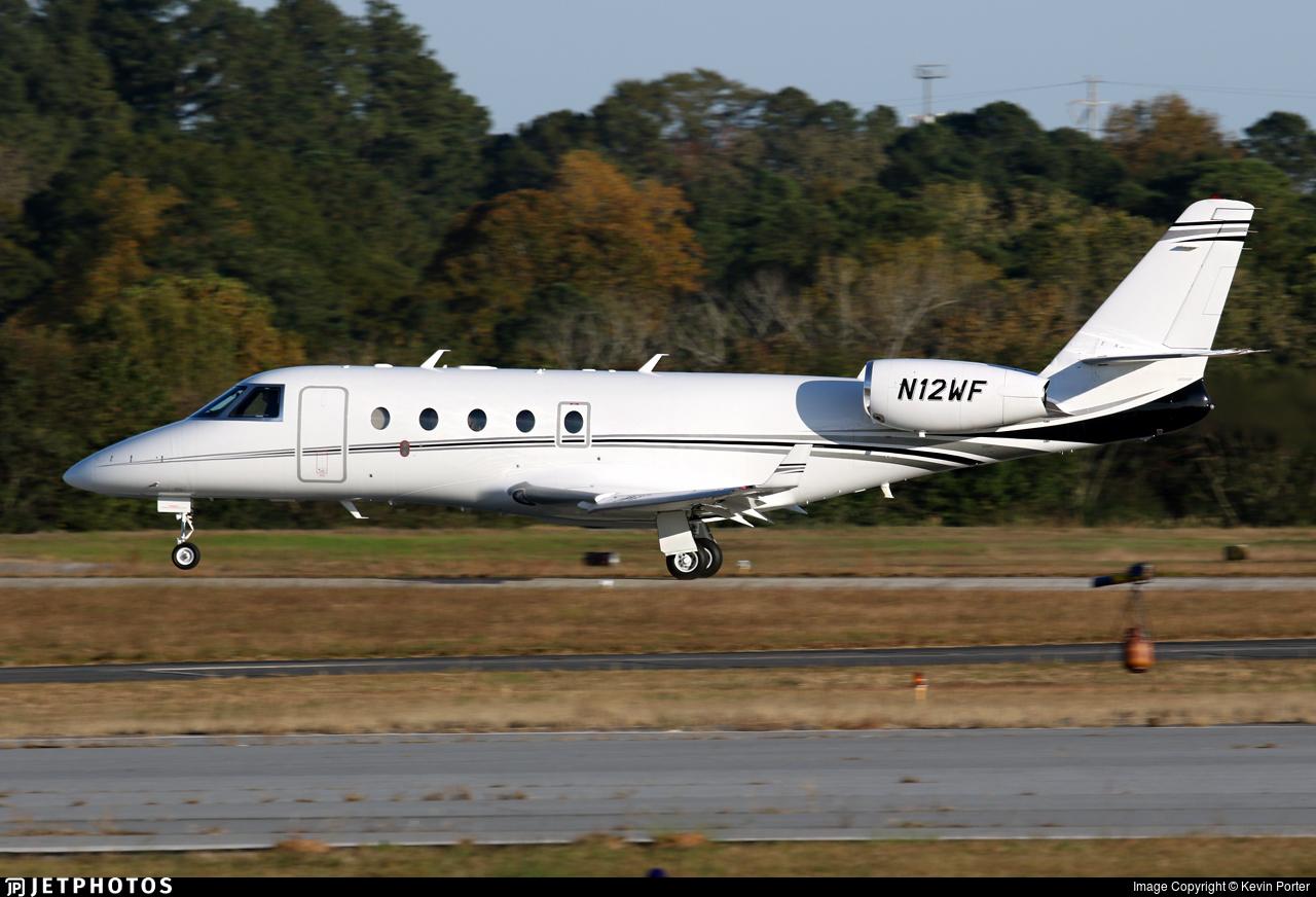 N12WF - Gulfstream G150 - Private