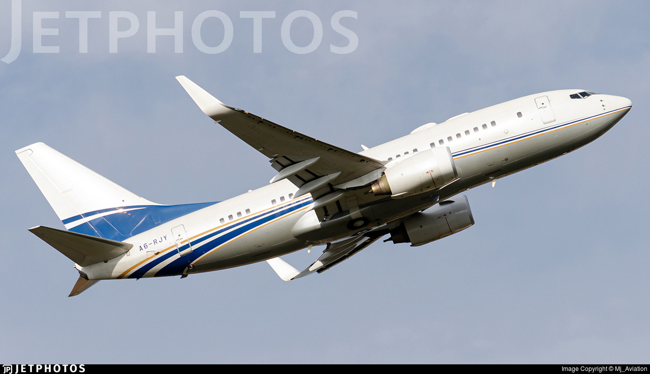 A6-RJY - Boeing 737-7Z5(BBJ) - Royal Jet