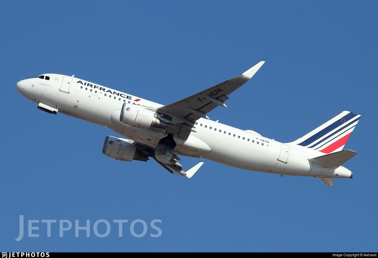 F-HEPK - Airbus A320-214 - Air France