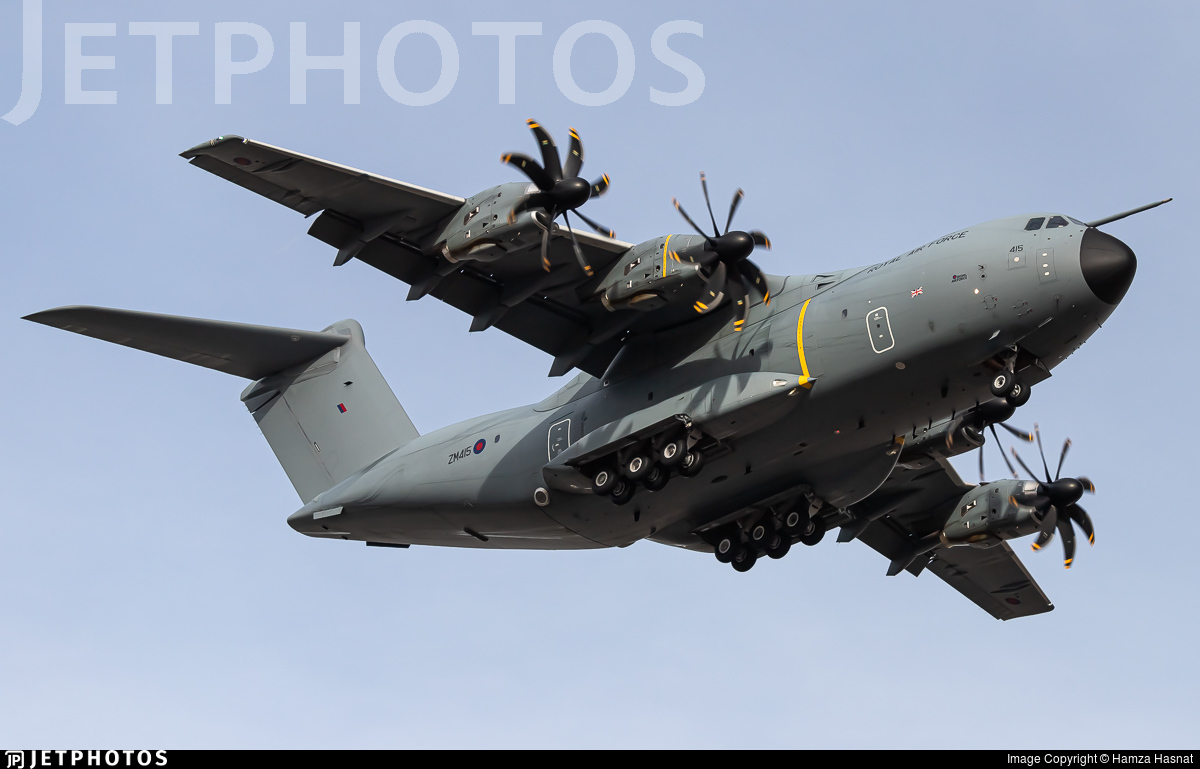 ZM415 - Airbus A400M Atlas C.1 - United Kingdom - Royal Air Force (RAF)