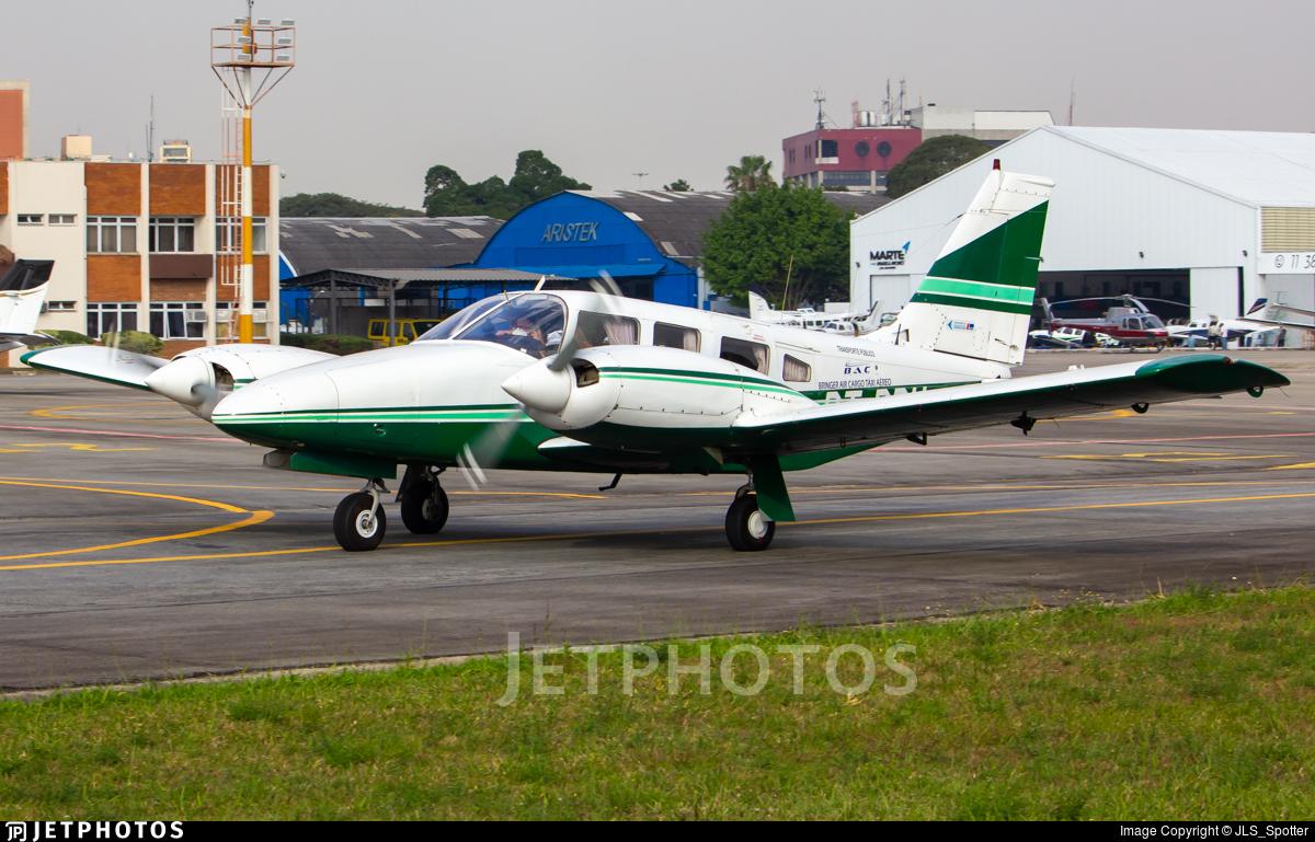 PT-RDH - Embraer EMB-810C Seneca II - Bringer Air Cargo Táxi Aéreo
