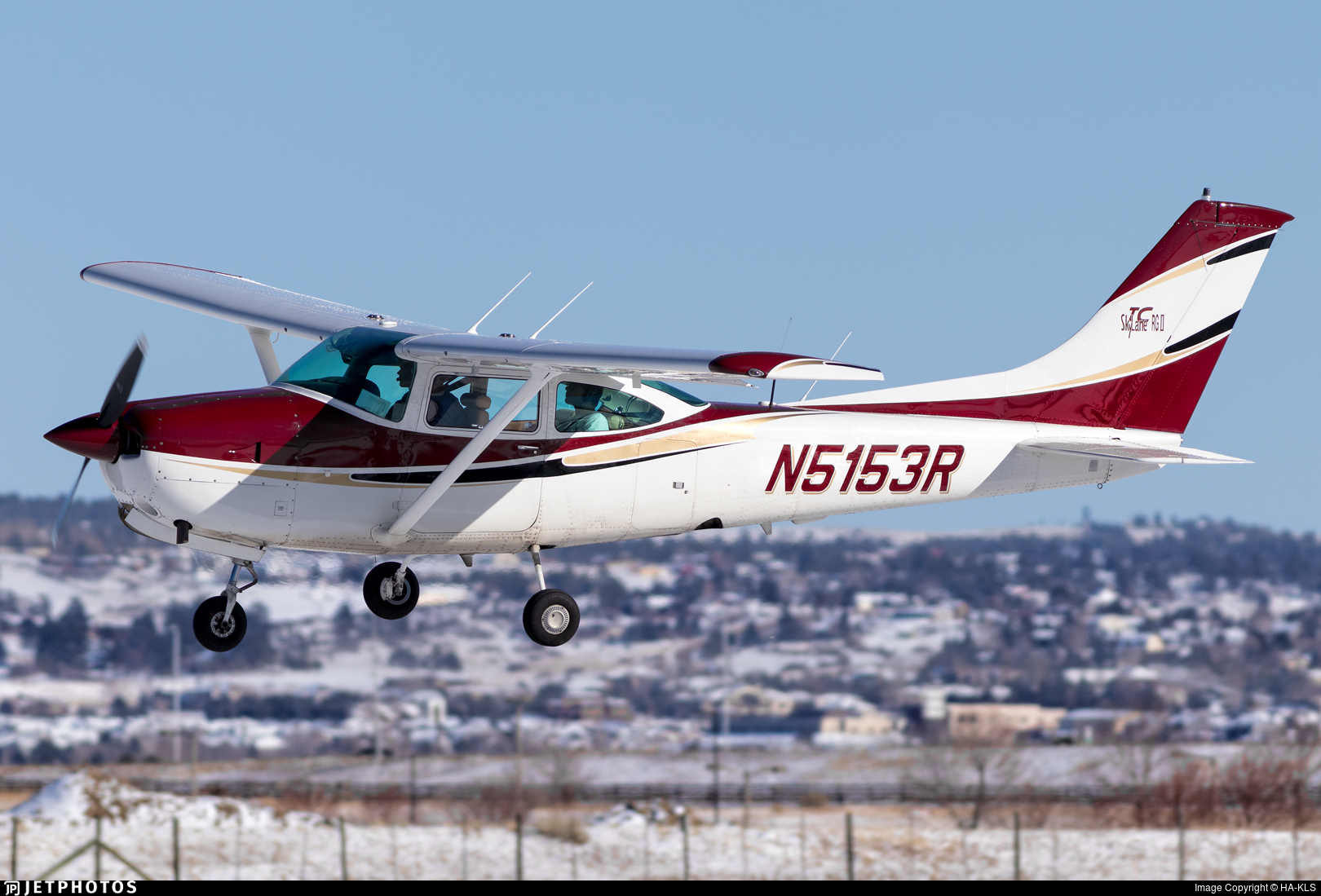 N5153R - Cessna TR182 Turbo Skylane RG - Private