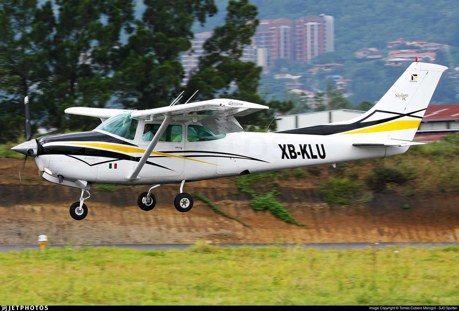 XB-KLU - Cessna TR182 Turbo Skylane RG - Private