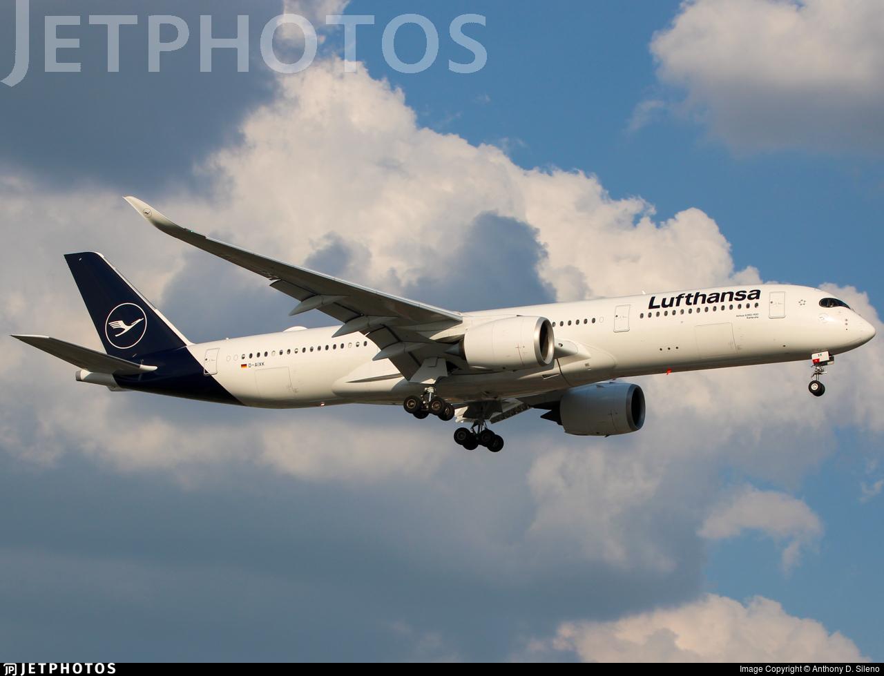 D-AIXK - Airbus A350-941 - Lufthansa
