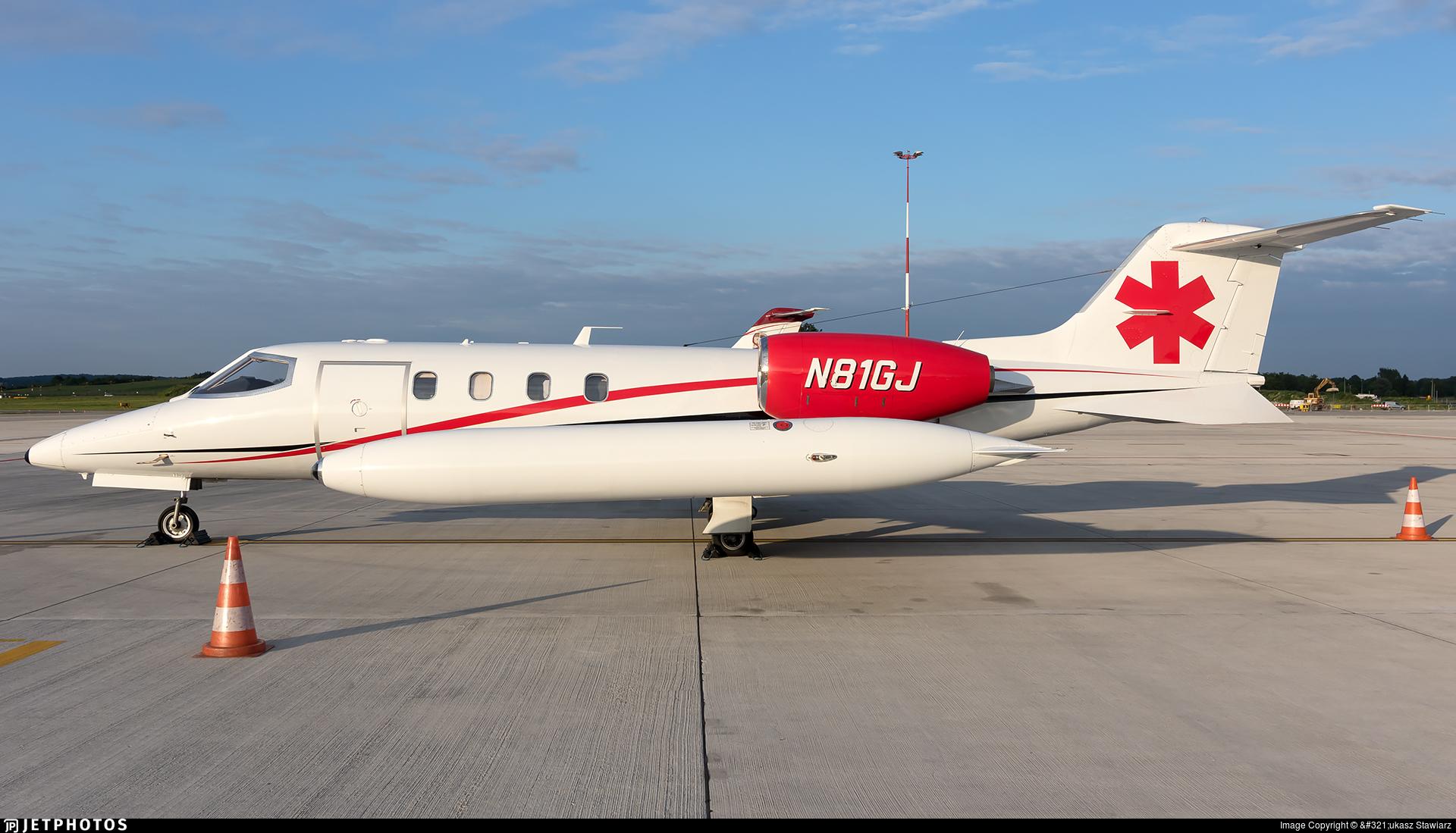 N81GJ - Bombardier Learjet 36A - Global Jetcare