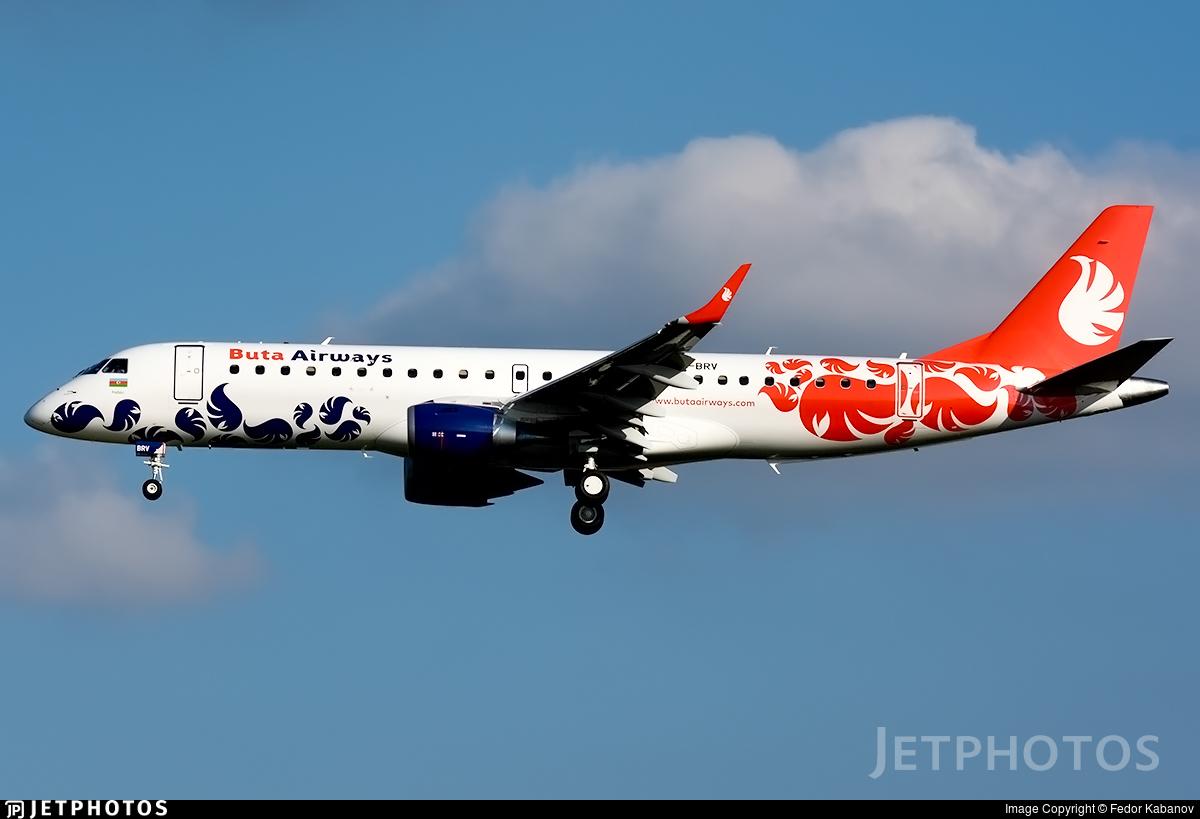 VP-BRV - Embraer 190-100LR - Buta Airways