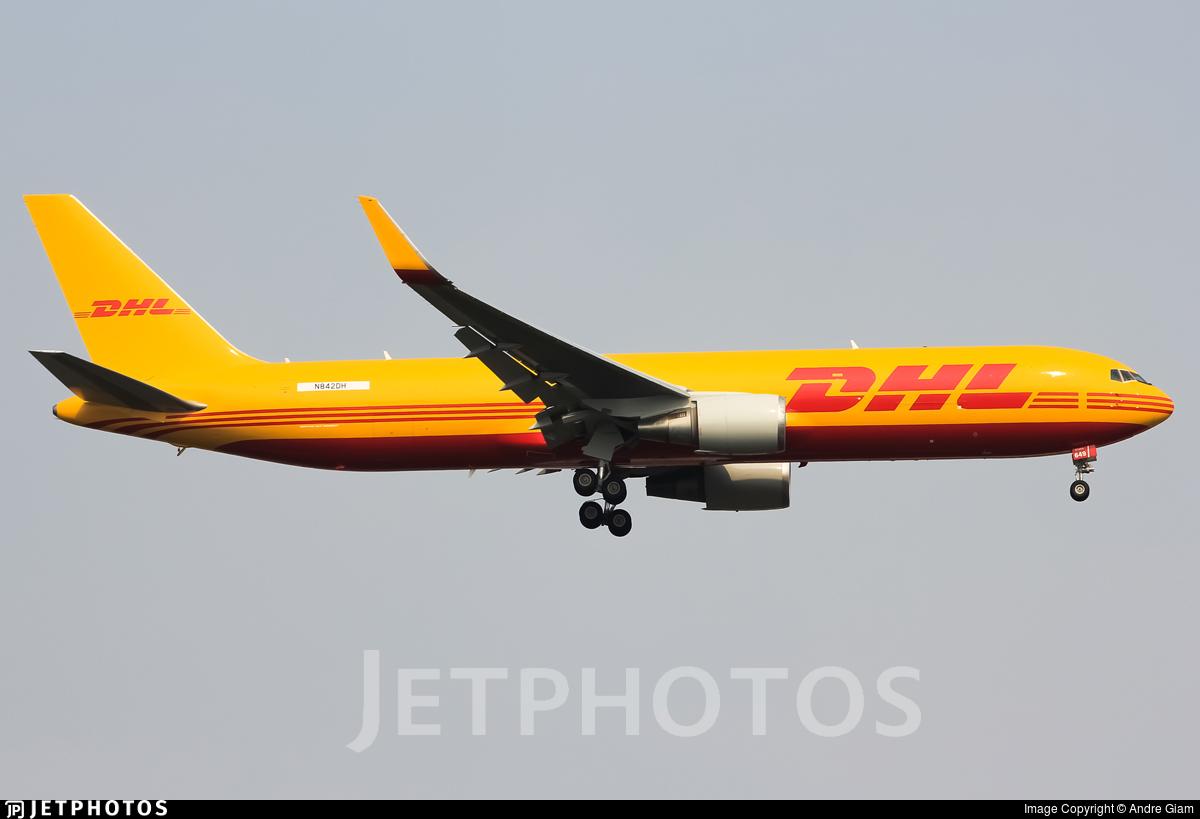 N842DH - Boeing 767-304(ER)(BCF) - DHL Air