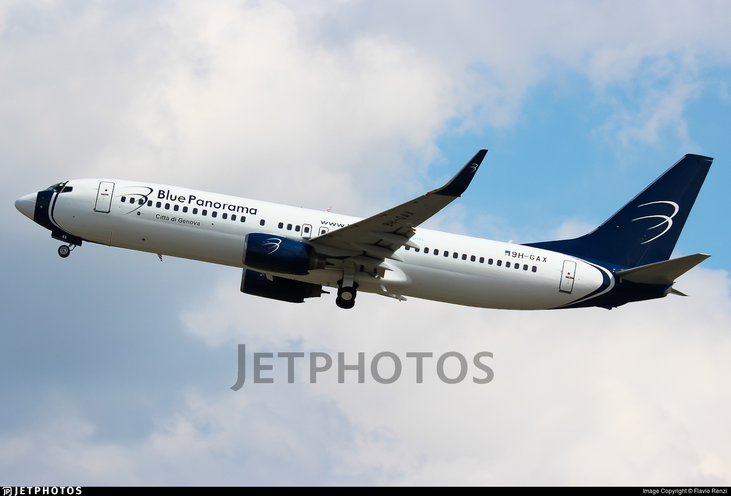 9H-GAX - Boeing 737-8Z0 - Blue Panorama Airlines