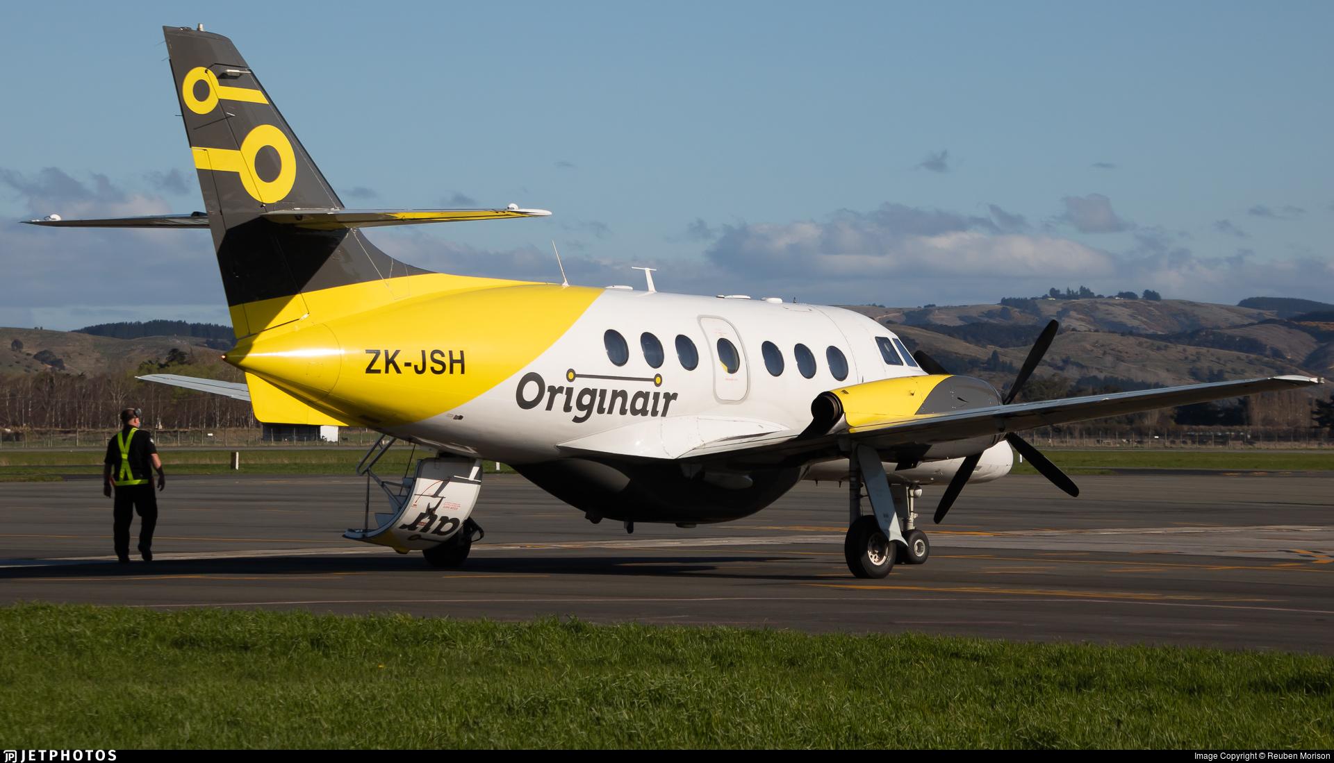 ZK-JSH - British Aerospace Jetstream 31 - Originair