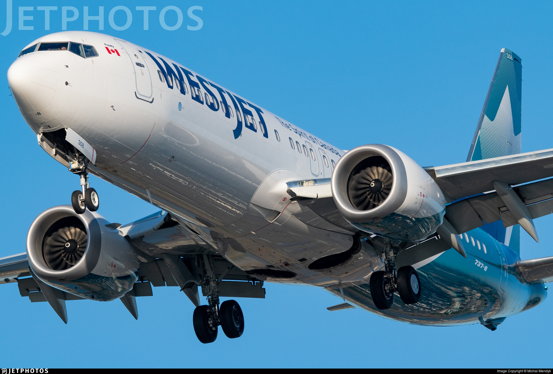 C-FNWD - Boeing 737-8 MAX - WestJet Airlines