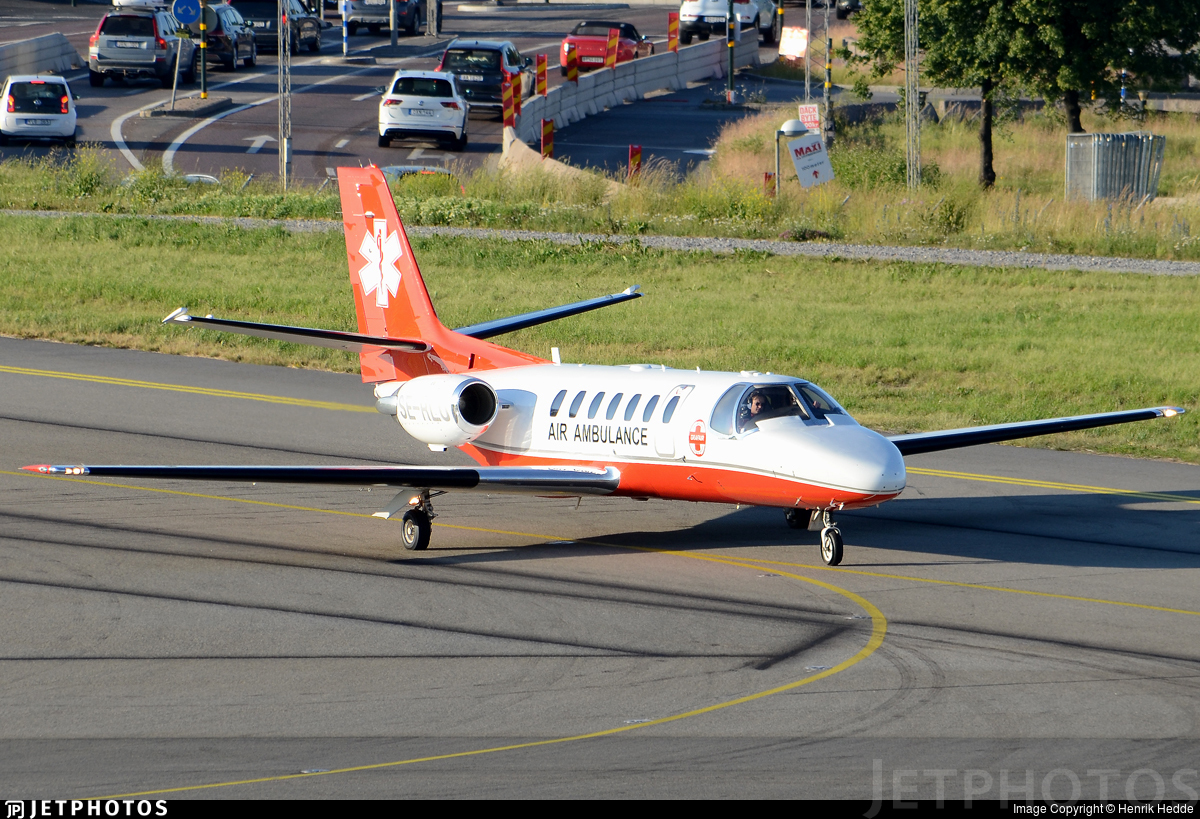 SE-RLU - Cessna 560 Citation Ultra - Grafair