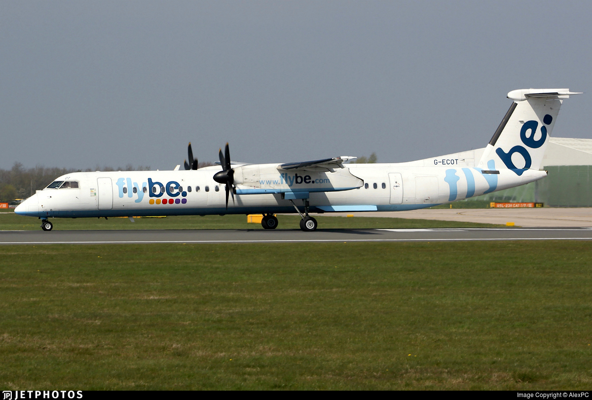 G-ECOT - Bombardier Dash 8-Q402 - Flybe