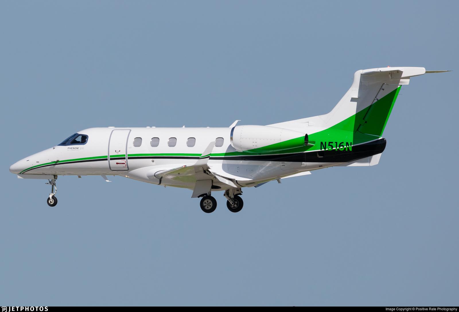 N516N - Embraer 505 Phenom 300 - Private
