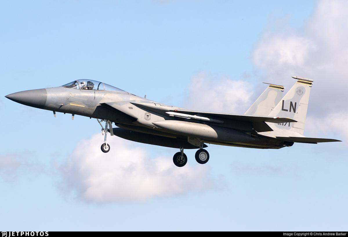 86-0171 - McDonnell Douglas F-15C Eagle - United States - US Air Force (USAF)