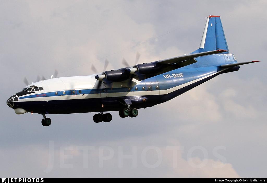 UR-DWF - Antonov An-12BK - Meridian Aviation