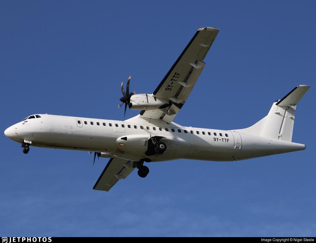 9Y-TTF - ATR 72-212A(600) - Caribbean Airlines