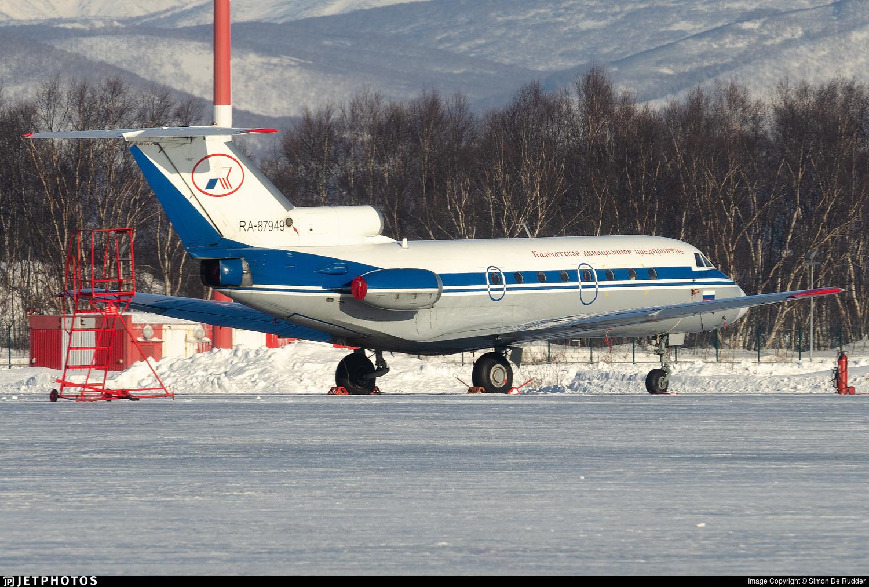 RA-87949 - Yakovlev Yak-40K - Petropavlovsk-Kamchatskoe Aviation Enterprise