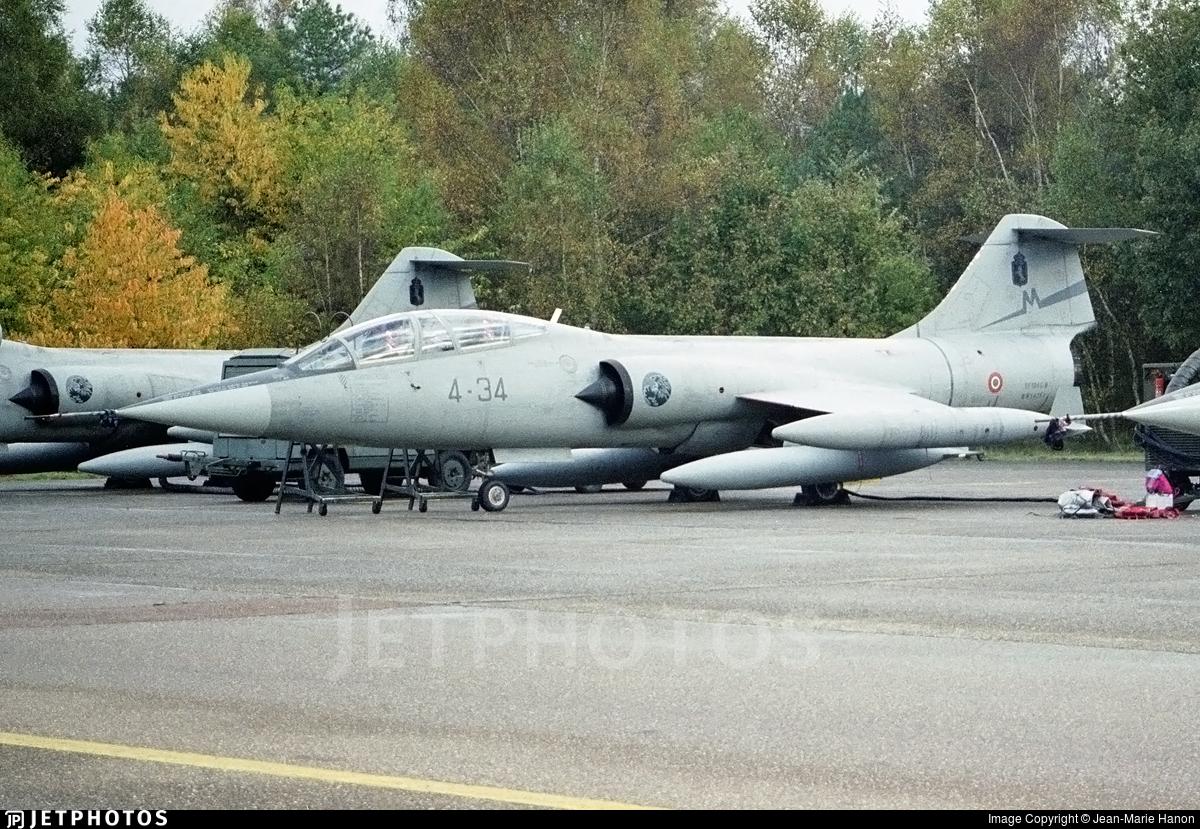 MM54251 - Lockheed TF-104G Starfighter - Italy - Air Force