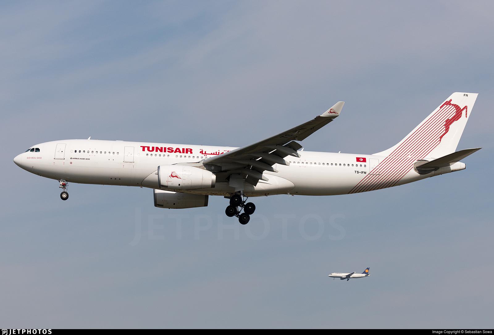 653194b97cf0 TS-IFN - Airbus A330-243 - Tunisair
