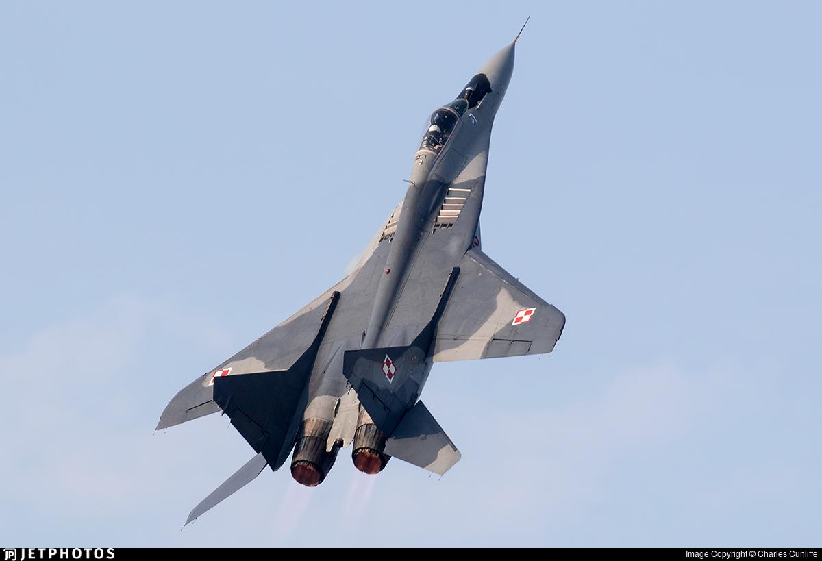 4116 - Mikoyan-Gurevich MiG-29A Fulcrum - Poland - Air Force