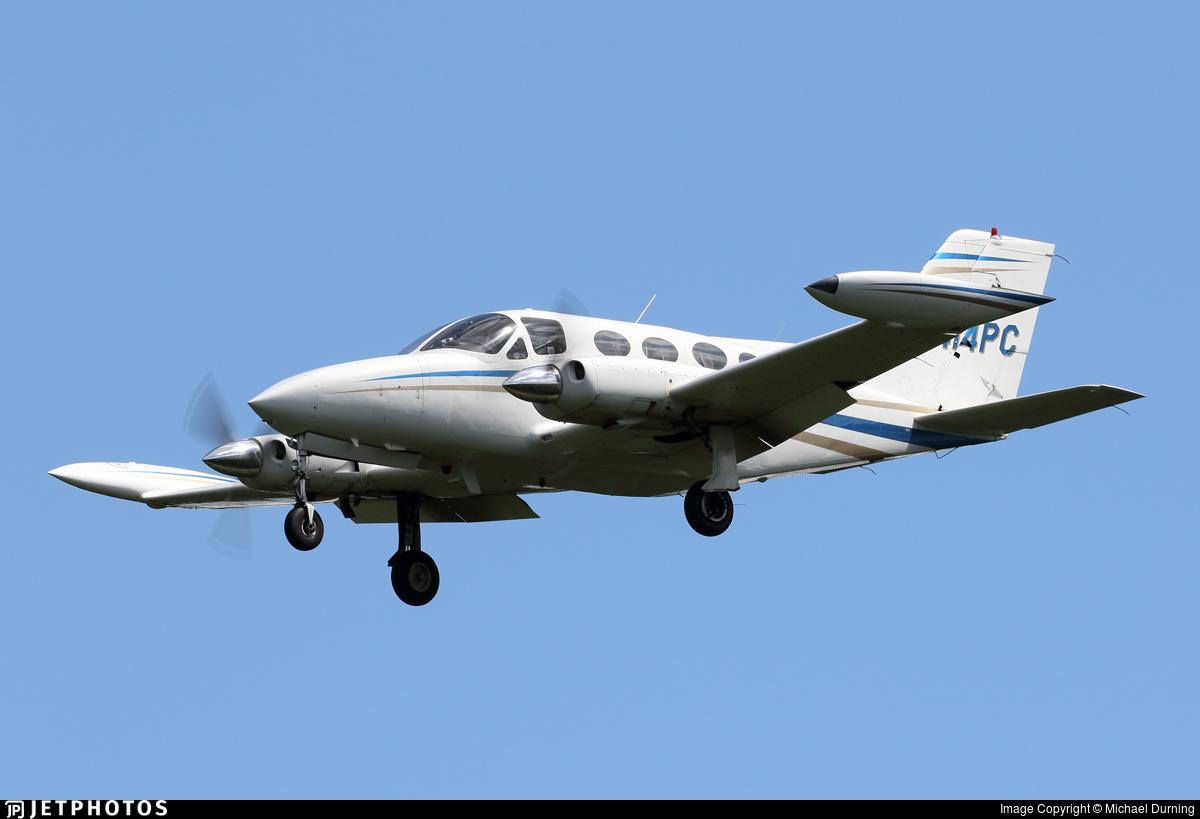 N414PC - Cessna 414 - Private