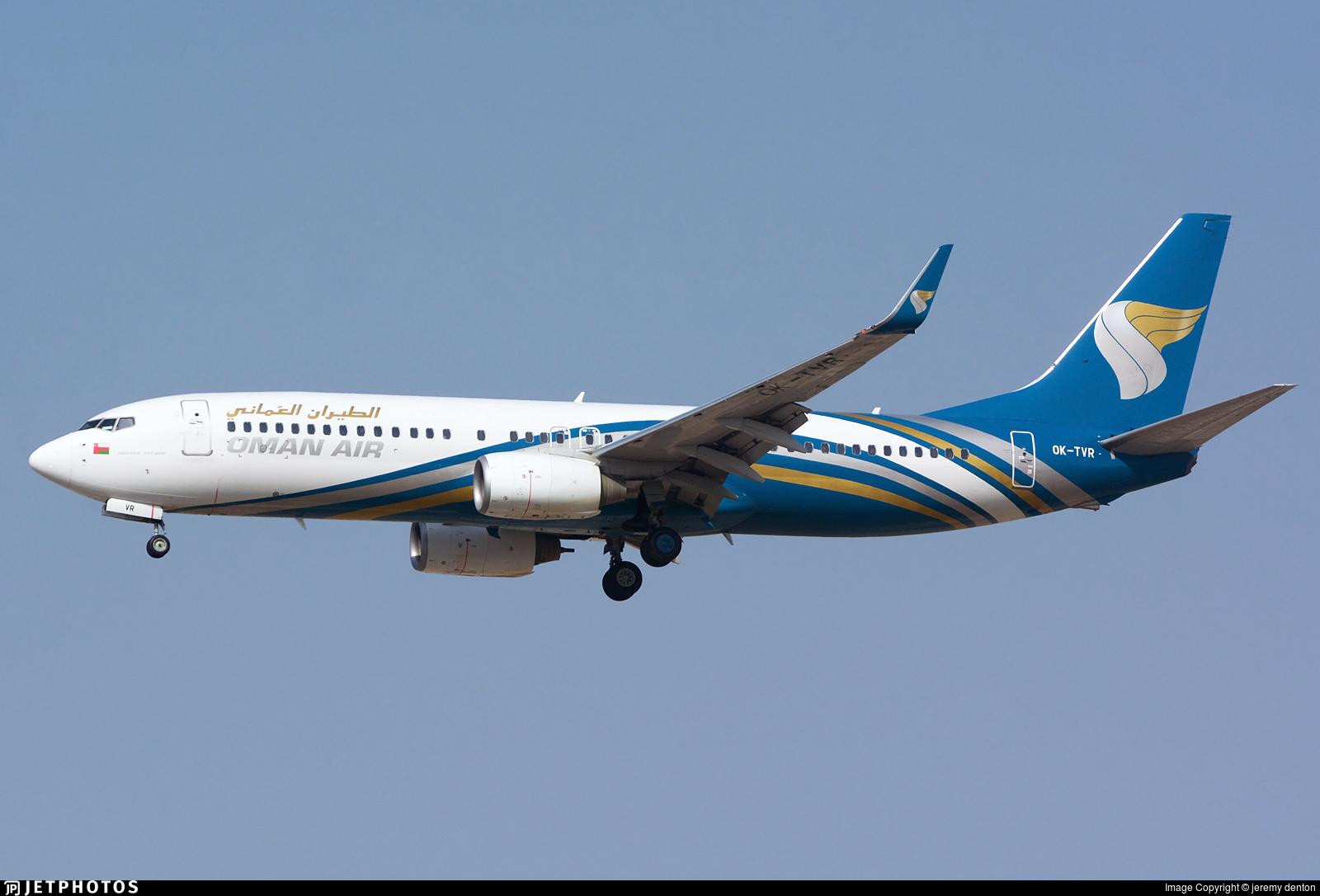OK-TVR - Boeing 737-86N - Oman Air (Travel Service)