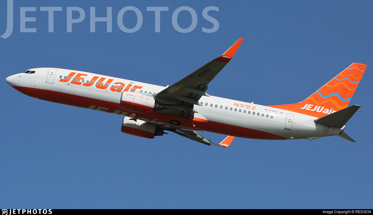 HL8302 - Boeing 737-8FH - Jeju Air