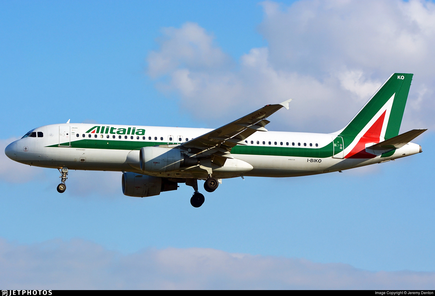 I-BIKO - Airbus A320-214 - Alitalia
