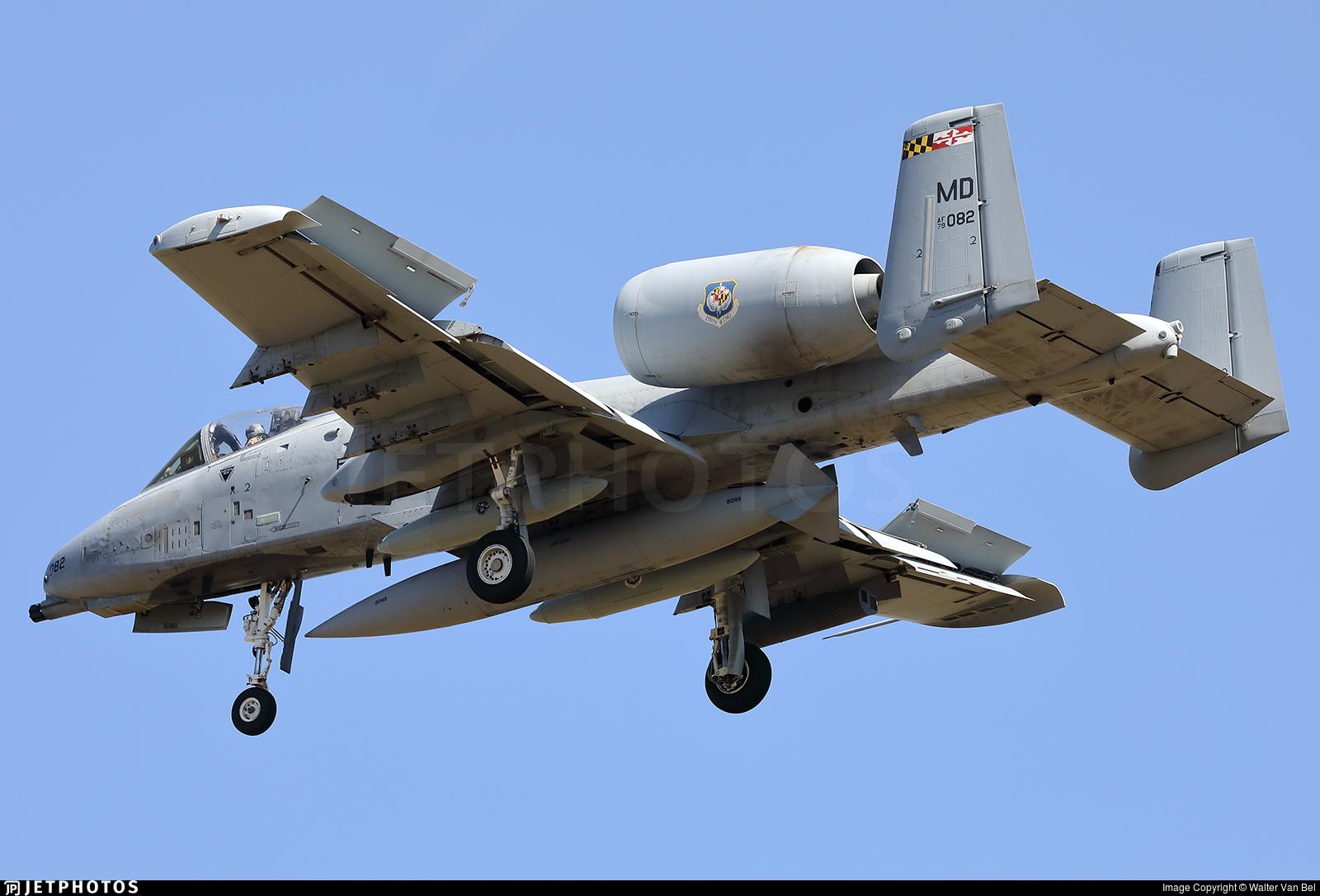 79-0082 - Fairchild A-10C Thunderbolt II - United States - US Air Force (USAF)