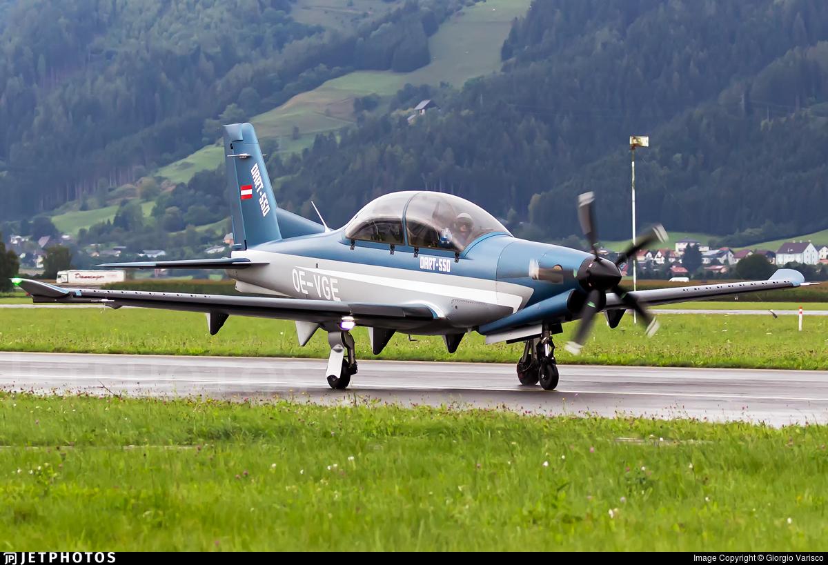 OE-VGE - Diamond Aircraft DART-550 - Diamond Aircraft Industries