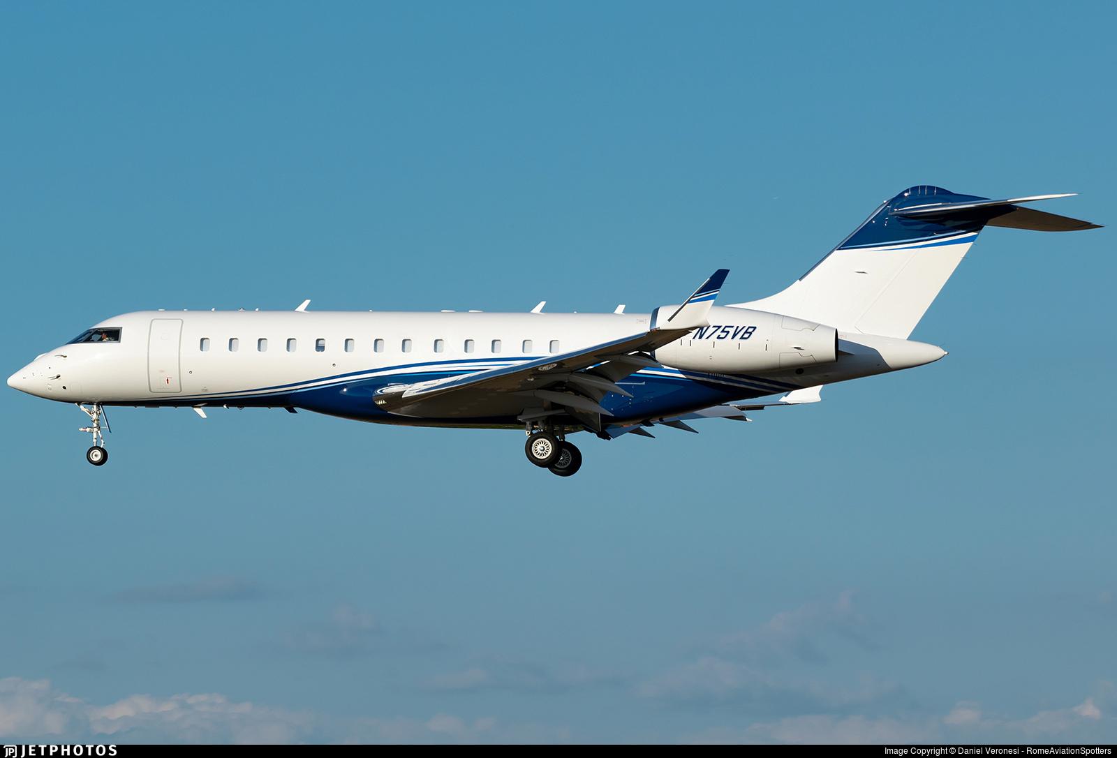 N75VB - Bombardier BD-700-1A10 Global 6000 - Private