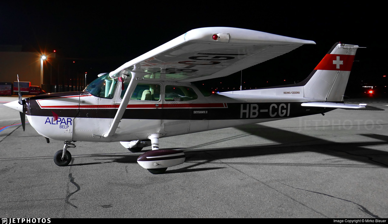HB-CGI - Reims-Cessna F172P Skyhawk II - AlpAviation