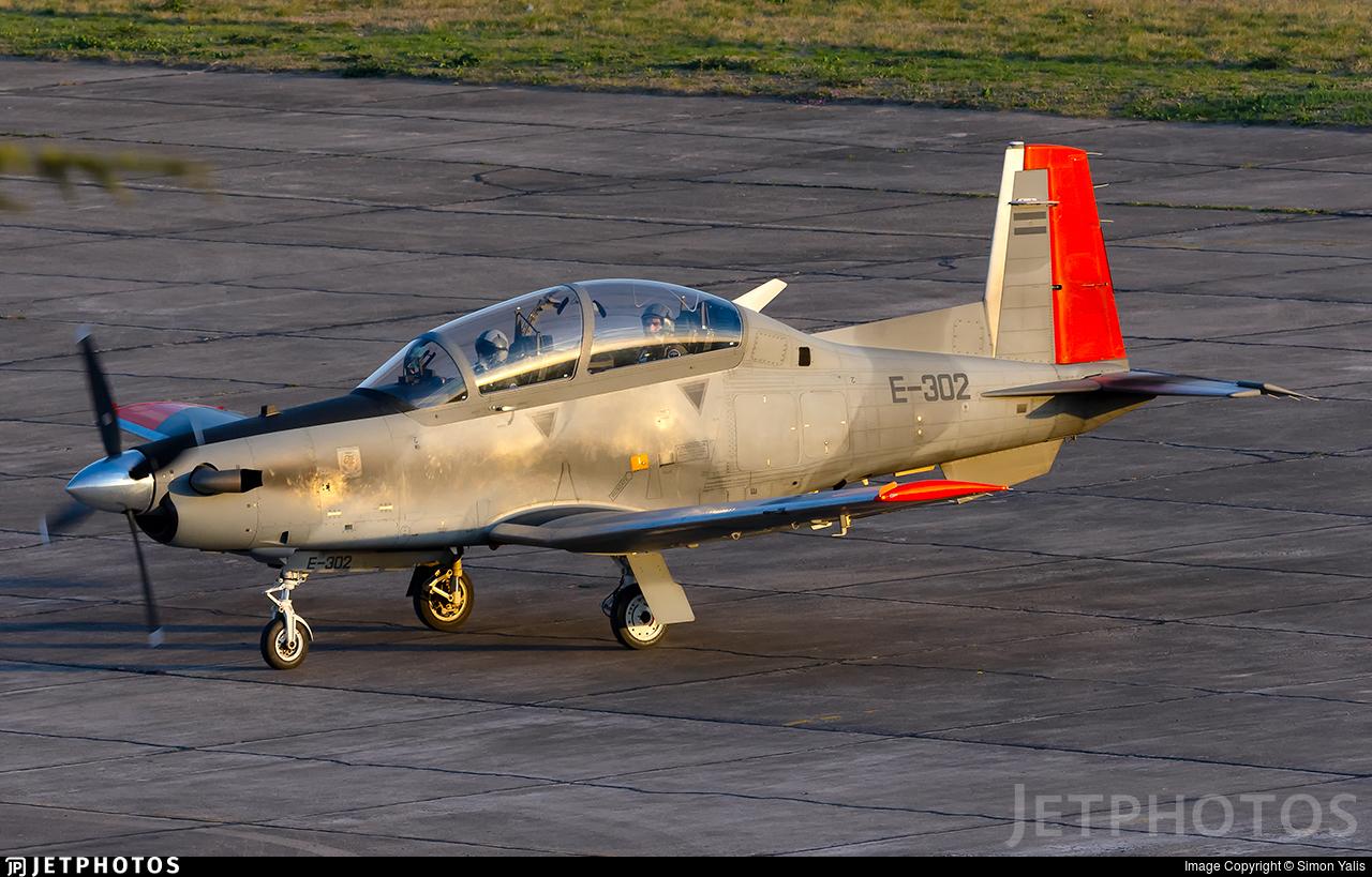 E-302 - Raytheon T-6C Texan II - Argentina - Air Force