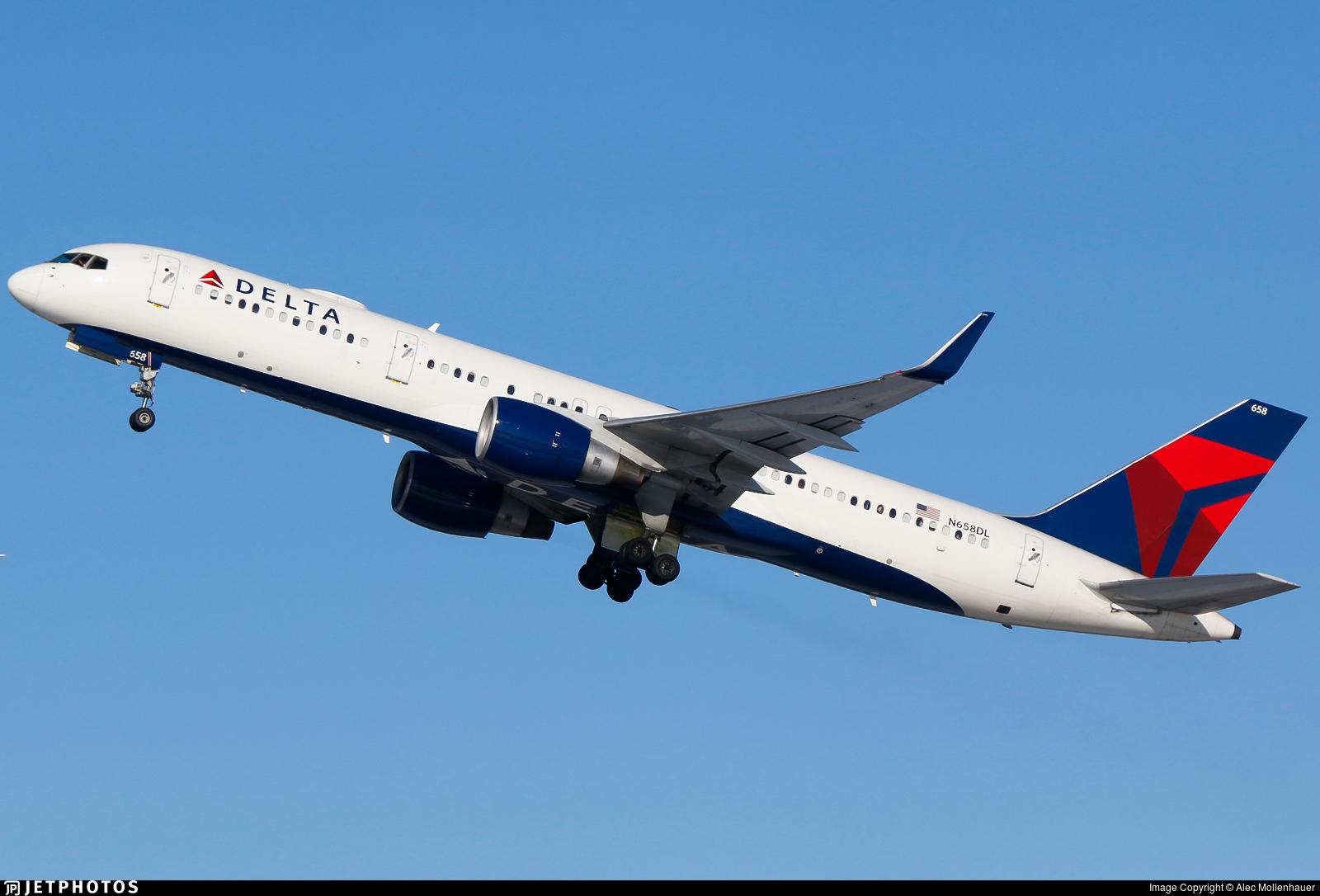 N658DL - Boeing 757-232 - Delta Air Lines