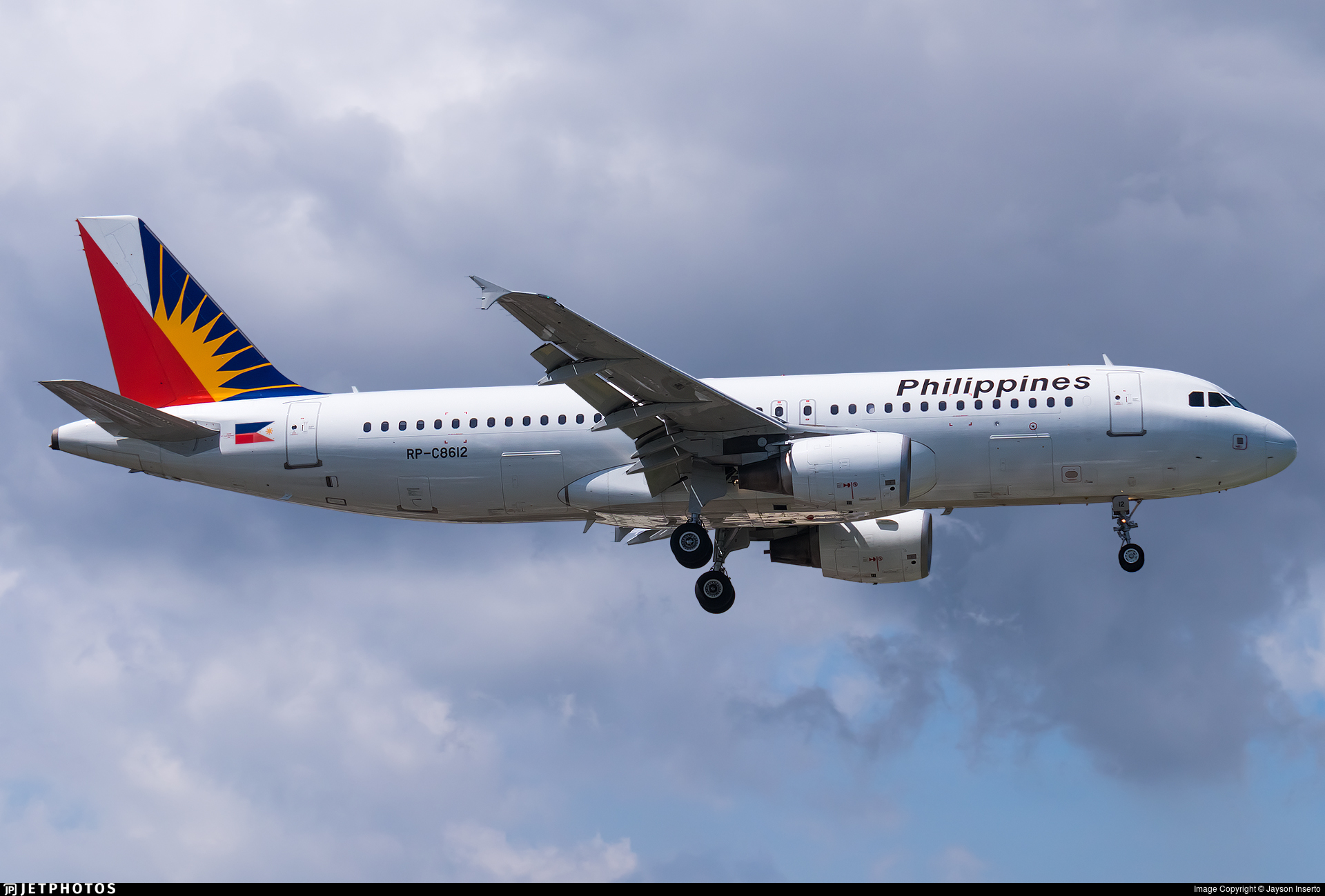 RP-C8612 - Airbus A320-214 - Philippine Airlines