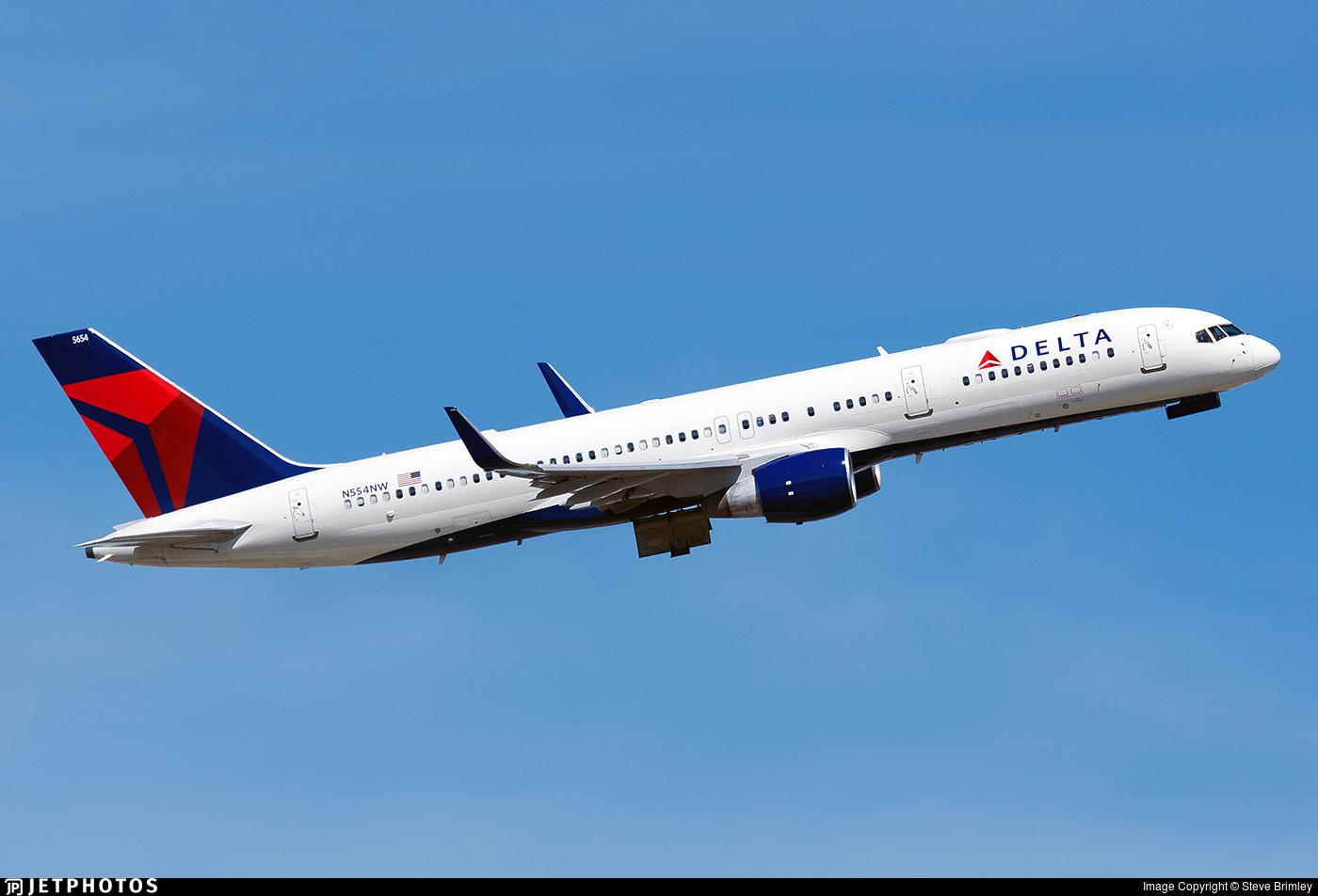 N554NW - Boeing 757-251 - Delta Air Lines