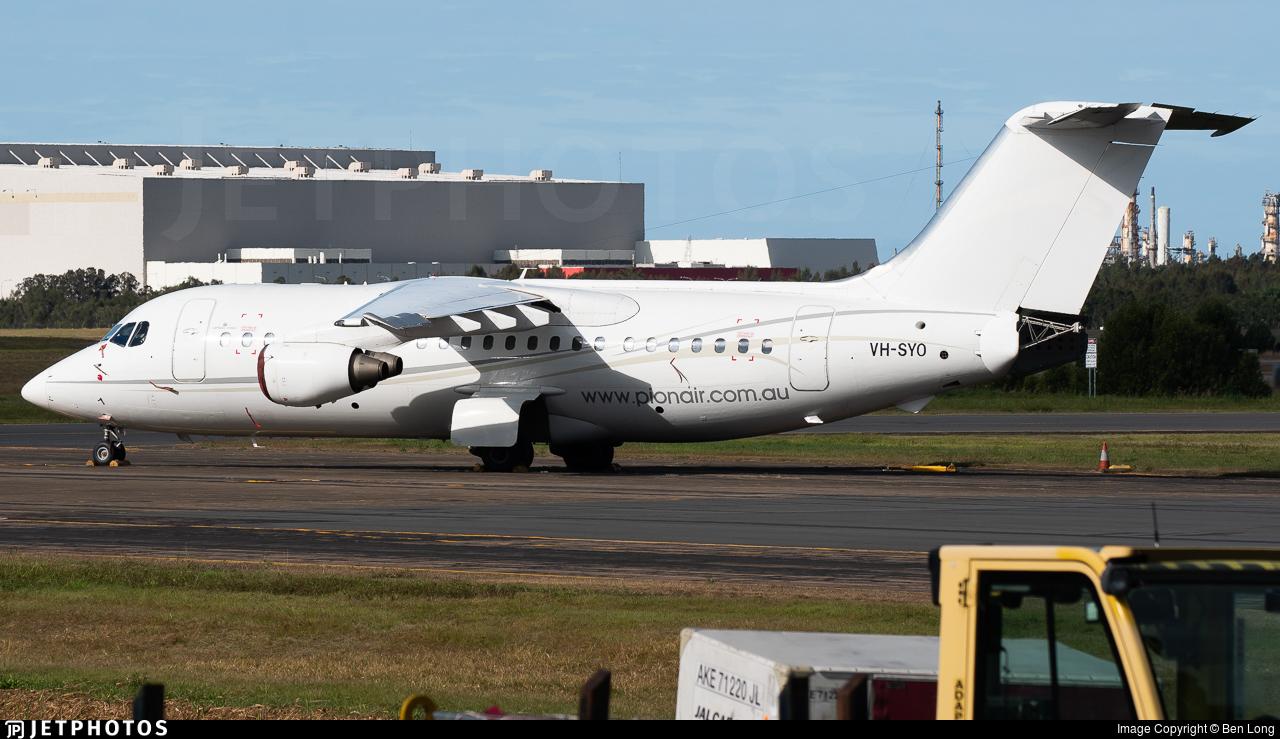 VH-SYO - British Aerospace BAe 146-200 - Pionair