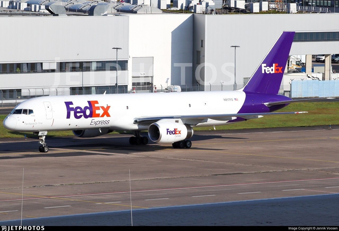 N917FD - Boeing 757-23A(SF) - FedEx