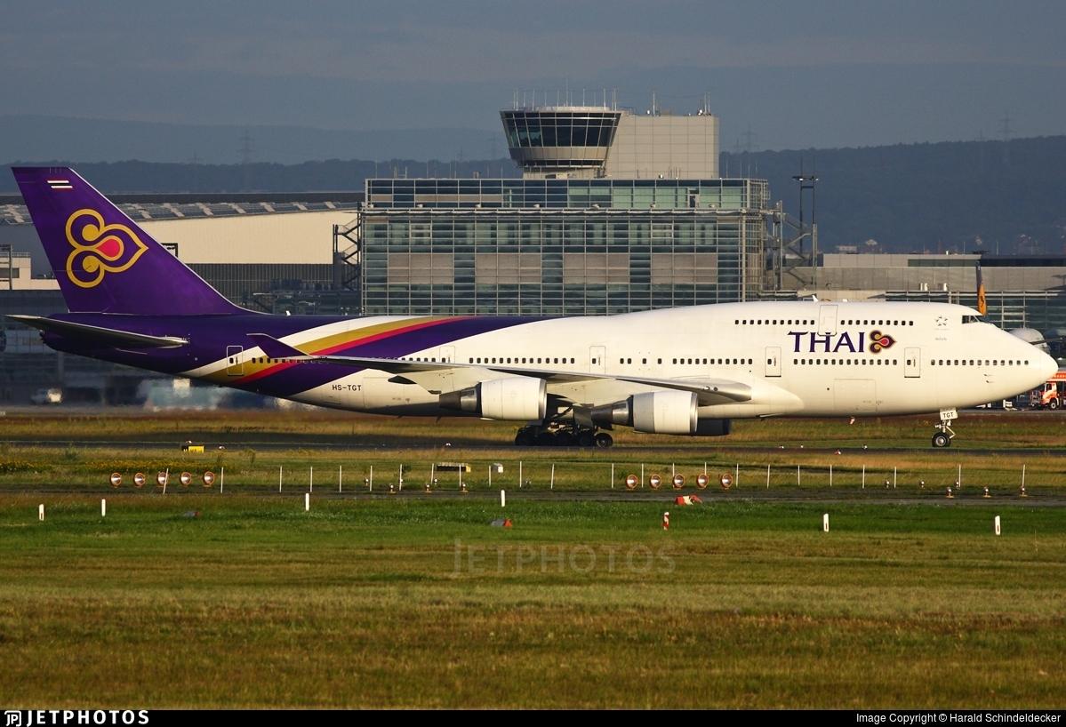 HS-TGT - Boeing 747-4D7 - Thai Airways International