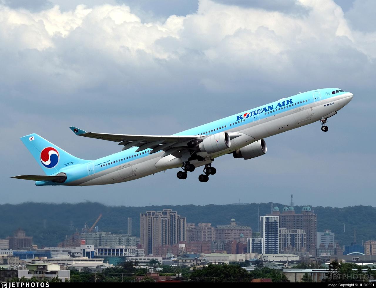 HL7709 - Airbus A330-323 - Korean Air