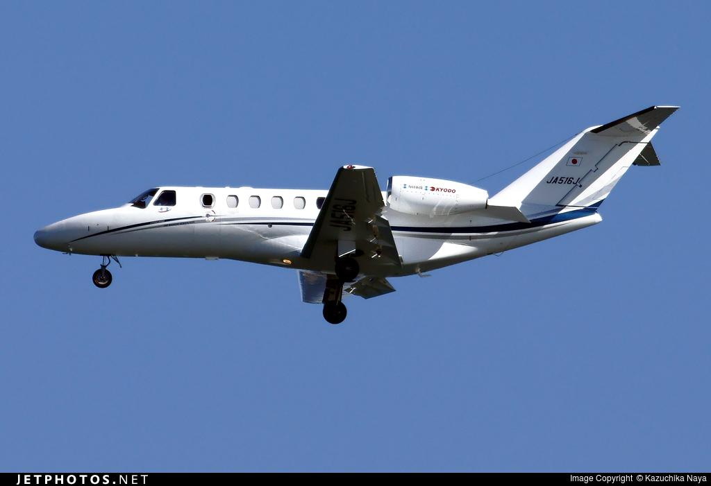 JA516J - Cessna 525A CitationJet 2 Plus - Private