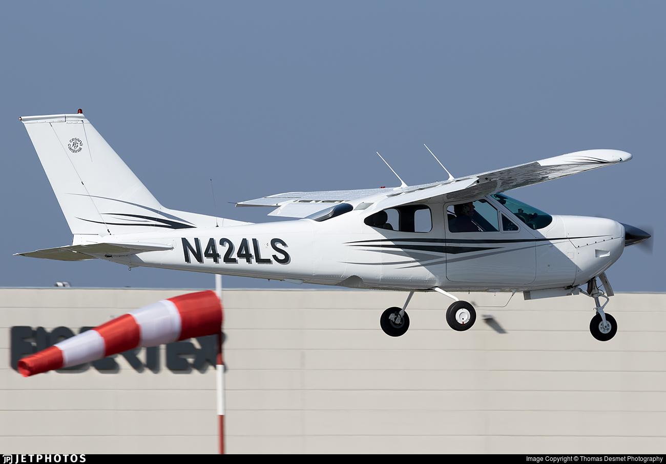 N424LS - Reims-Cessna F177RG Cardinal RG - Private